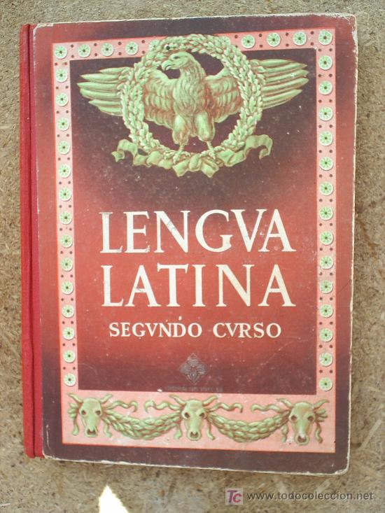 Libros de segunda mano: LIBRO ESCOLAR , LENGUA LATINA , SEGUNDO CURSO 1954 , EDITORIAL LUIS VIVES - Foto 7 - 24804649