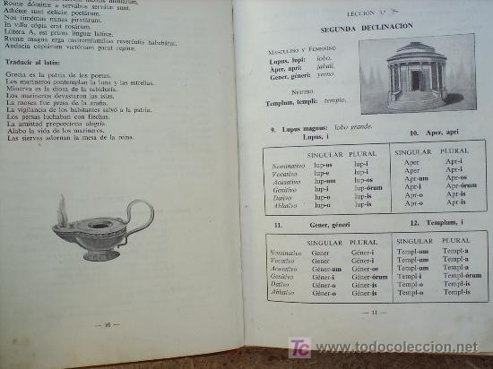 Libros de segunda mano: LIBRO ESCOLAR , LENGUA LATINA , SEGUNDO CURSO 1954 , EDITORIAL LUIS VIVES - Foto 2 - 24804649
