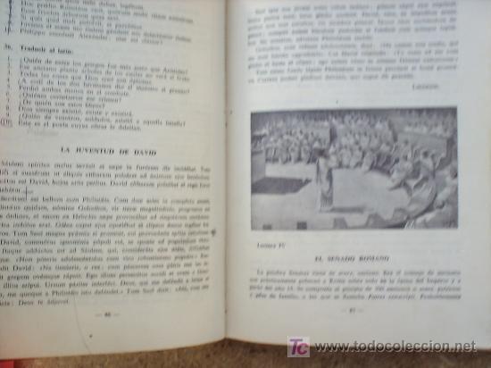Libros de segunda mano: LIBRO ESCOLAR , LENGUA LATINA , SEGUNDO CURSO 1954 , EDITORIAL LUIS VIVES - Foto 3 - 24804649