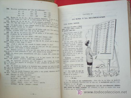Libros de segunda mano: LIBRO ESCOLAR , MATEMATICAS .primer curso, 1954 , editorial luis vives - Foto 2 - 18482613