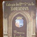 Libros de segunda mano: COLEGIO DE NTRA SRA DE LA BONANOVA , MEMORIA ESCOLAR 1948 - 1949 . Lote 19233377