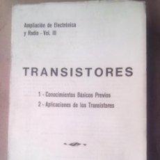 Libros de segunda mano: TRANSISTORES. Lote 26960205