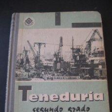 Libros de segunda mano: LIBRO ESCOLAR. TENEDURIA 2º. LUIS VIVES 1966. Lote 19927300