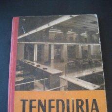 Libros de segunda mano: LIBRO ESCOLAR. TENEDURIA 1º. LUIS VIVES 1958. Lote 19927358