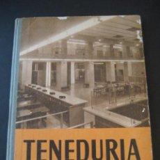 Libros de segunda mano: LIBRO ESCOLAR. TENEDURIA 1º. LUIS VIVES 1958 . Lote 19927425