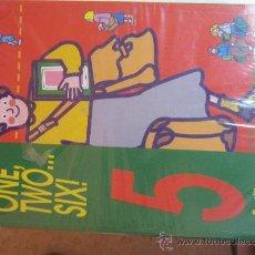 Libros de segunda mano: ONE, TWO,...SIX DE ED. SANTILLANA LIBRO DE 5 NUEVO A ESTRENAR CON LIBRILLO ACTIVIDADES.. Lote 50457585