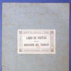 Libro de visitas para la inspecci n de trabajo comprar - Libreria segunda mano valencia ...
