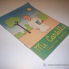 Libros de segunda mano: MI CARTILLA CUARTA PARTE - ALVAREZ - SEXTA EDICION AÑO 1962. Lote 20726393