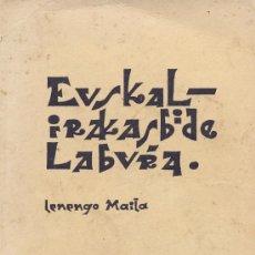 Libros de segunda mano: EUSKAL – IRAKASBIDE LABURA LENEGO MAILA + HOJAS DE APUNTES, 1963. Lote 22933746