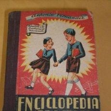Libros de segunda mano: ENCICLOPEDIA PRACTICA - PERIODO ELEMENTAL - GRADO PRIMERO - 1958. Lote 21355916