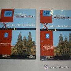 Libros de segunda mano: AUXILIARES ADMINISTRATIVOS XUNTA DE GALICIA. TEMARIO 1 Y 2 CEFIASA 2005 RM45511. Lote 25697658