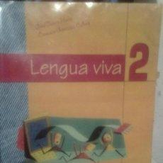 Libros de segunda mano: LENGUA VIVA -2º DE E.S.O.-. Lote 27060014