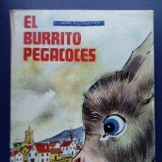 Libros de segunda mano: EL BURRITO PEGACOCES - LIBRO DE LECTURAS - EDICIONES SM - 1979. Lote 36982288