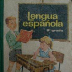 Libros de segunda mano - LENGUA ESPAÑOLA, 4º GRADO. Ediciones S.M. 1965 - 23119709