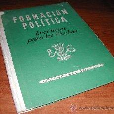 Libros de segunda mano: SECCION FEMENINA DE FET Y DE LAS JONS: LECCIONES PARA LAS FLECHAS - OJE - FALANGE. Lote 25725586