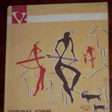 Libros de segunda mano: LECTURAS SOBRE HISTORIA DE LOS PUEBLOS DE ESPAÑA POR JESÚS GARCÍA TOLSÁ DE VICENS VIVES EN BARCELONA. Lote 26324063