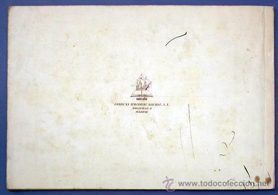 Libros de segunda mano: CUADERNO DE ROTULACIÓN. RAMÓN V. MESONERO. GRÁFICAS AFRODISIO AGUADO. MADRID, SIN FECHA. - Foto 8 - 27547270