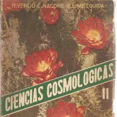 Libros de segunda mano: CIENCIAS COSMOLÓGICAS - SEGUNDO CURSO - ECIR 1950. Lote 25019681
