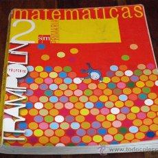 Libros de segunda mano: MATEMÁTICAS 2º PRIMARIA-SM-PROYECTO TRAMPOLÍN-USADO-. Lote 25050662