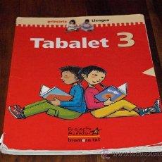 Libros de segunda mano: TABALET 3- LIBRO LENGUA VALENCIANA PRIMARIA. PROYECTE AVENTURA. BROMERA TXT-USADO-. Lote 26594560