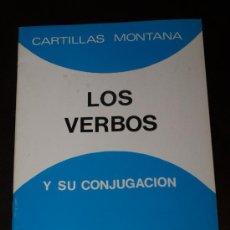 Libros de segunda mano: CARTILLA MONTANA LOS VERBOS Y SU CONJUGACION DE EDITORIAL SALVATELLA AÑO 1985. Lote 152806517