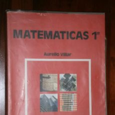 Libros de segunda mano: MATEMÁTICAS 1º FP POR AURELIO VILLAR DE ANAYA EN MADRID 1982. Lote 26001297