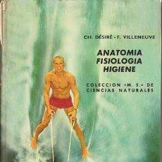 Second hand books - ANATOMÍA, FISIOLOGÍA, HIGIENE - MONTANER Y SIMÓN 1969 - 26289009