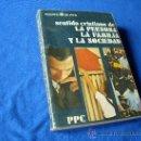 Libros de segunda mano: SENTIDO CRISTIANO DE LA PERSONA , LA FAMILIA Y LA SOCIEDAD ( C.O.U 1975 ) - EDIT. PPC -. Lote 26466979