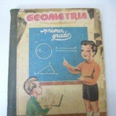 Libros de segunda mano: GEOMETRIA - PRIMER GRADO - ED. BRUÑO - 1956. Lote 26701916