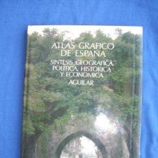 Libros de segunda mano: ATLAS GEOGRAFICO DE ESPAÑA ( 1ª EDICION ) - AGUILAR 1980 - ( PASTAS DURAS CON SOBRECUBIERTA ). Lote 28033627