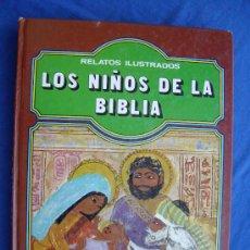 Libros de segunda mano: LOS NIÑOS DE LA BIBLIA - EVEREST 1983 -. Lote 28306611