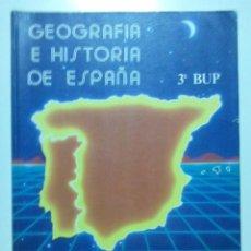Second hand books - GEOGRAFIA E HISTORIA DE ESPAÑA - 3º BUP - GRUPO EDETANIA - EDITORIAL ECIR - 1994 - 28453473
