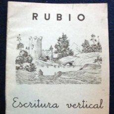 Libros de segunda mano: CUADERNO RUBIO DE ESCRITURA LOS DEL COLE DE LOS 60 EL Nº 6. Lote 28456221