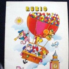 Libros de segunda mano: CUADERNO RUBIO DE ESCRITURA LOS DEL COLE DE LOS 80 EL Nº 13. Lote 28456239