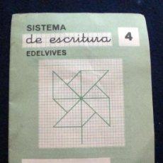 Libros de segunda mano: CUADERNO EDELVIVES DE ESCRITURA LOS DEL COLE DE LOS 60, ESTE CUADRICULADO. Lote 28456259