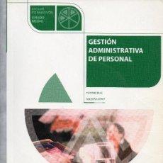 Libros de segunda mano - Gestión Administrativa de Personal - 28517857