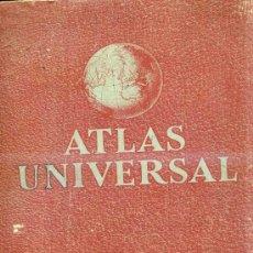 Libros de segunda mano: EDELVIVES : ATLAS UNIVERSAL. Lote 28803795