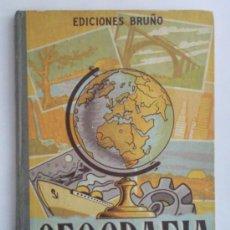 Libros de segunda mano: LIBRO DE TEXTO ,- GEGRAFIA ELEMENTAL SEGUNDO GRADO ,- EDITORIAL BRUÑO 1961. Lote 28922328