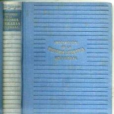Libros de segunda mano: GILI GAYA : INICIACIÓN EN LA HISTORIA LITERARIA UNIVERSAL (AYMÁ, 1944). Lote 29293598