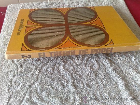 Libros de segunda mano: carton y cartulina - santillana 1969 - - Foto 2 - 29426037