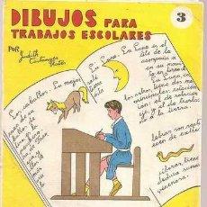 Second hand books - DIBUJOS PARA TRABAJOS ESCOLARES 3 - JUDITH CASTANYER RATÉS - 29726280