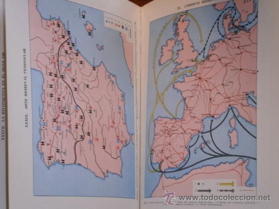 Libros de segunda mano: Atlas de Historia de España por Jaume Vicens Vives de Ed. Teide en Barcelona 1965 5ª Edición - Foto 2 - 30078369