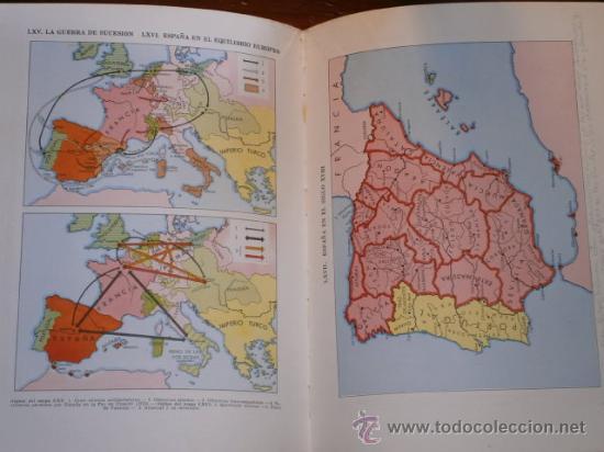 Libros de segunda mano: Atlas de Historia de España por Jaume Vicens Vives de Ed. Teide en Barcelona 1965 5ª Edición - Foto 3 - 30078369