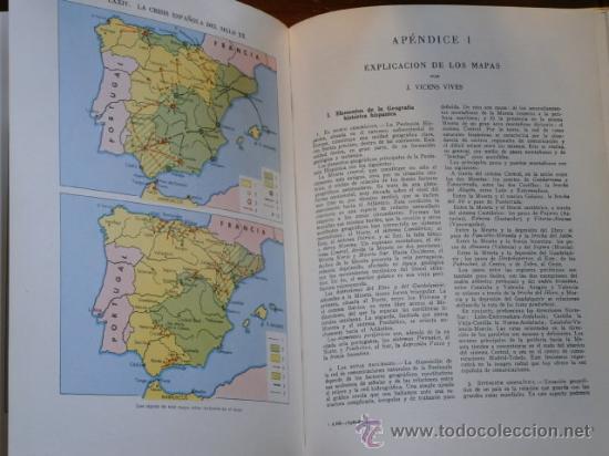 Libros de segunda mano: Atlas de Historia de España por Jaume Vicens Vives de Ed. Teide en Barcelona 1965 5ª Edición - Foto 4 - 30078369