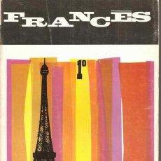 Libros de segunda mano: FRANCÉS 1º - MILLÁN URDIALES CAMPOS - ANAYA 1969. Lote 30129699