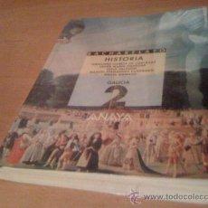 Libros de segunda mano: LIBRO BACHARELATO BACHILLERATO HISTORIA GALEGO 2º. Lote 31622967