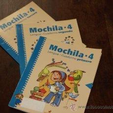 Libros de segunda mano: TRES CUADERNILLOS LENGUA. MOCHILA 4. ALGAR-BROMERA.MITAD COMPLETADOS, MITAD NUEVOS.3 CUADERNO LENGUA. Lote 30767676