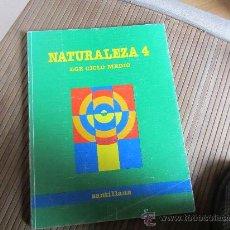 Libros de segunda mano: NATURALEZA, 4, SANTILLANA. Lote 31169943