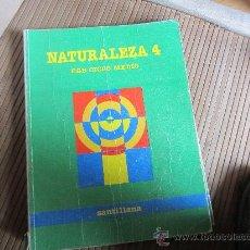Libros de segunda mano: NATURALEZA, 4, SANTILLANA. Lote 31169967