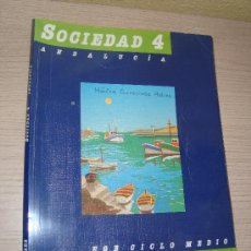 Libros de segunda mano: SOCIEDAD 4º EGB CICLO MEDIO SANTILLANA AÑO 1990. Lote 31194876